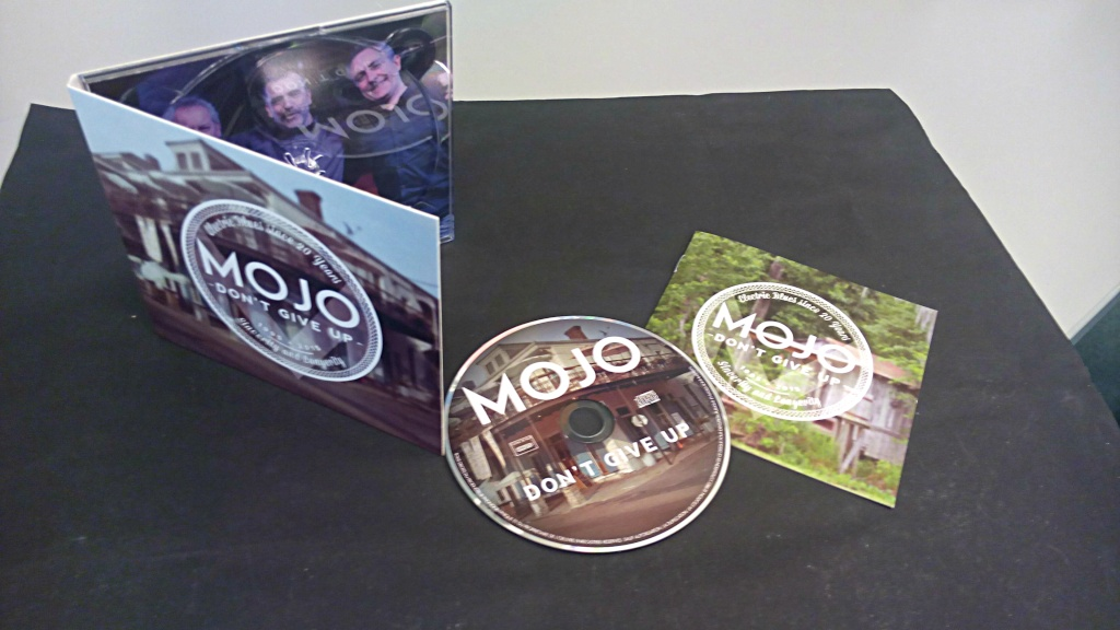 Mojo nouvel album Don't Give Up Digipa11