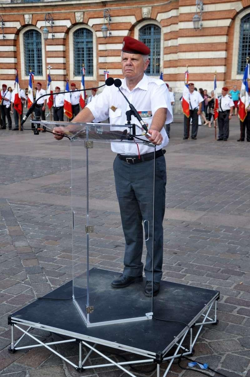 Hommage au Lnt-Col Pirre Lecomte: la section UNP de Toulouse pend le nom de :section Lnt-Col Pierre Lecomte Dsc_0010