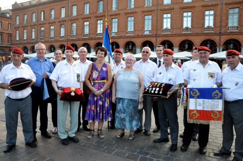 Hommage au Lnt-Col Pirre Lecomte: la section UNP de Toulouse pend le nom de :section Lnt-Col Pierre Lecomte Dsc_0023