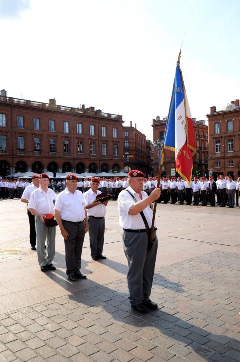 Hommage au Lnt-Col Pirre Lecomte: la section UNP de Toulouse pend le nom de :section Lnt-Col Pierre Lecomte Dsc_5619