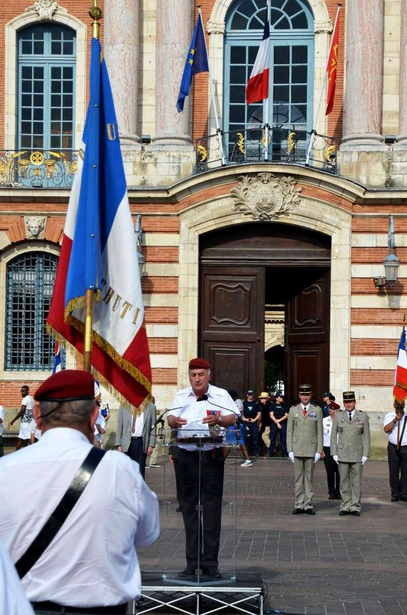 Hommage au Lnt-Col Pirre Lecomte: la section UNP de Toulouse pend le nom de :section Lnt-Col Pierre Lecomte Dsc_5620