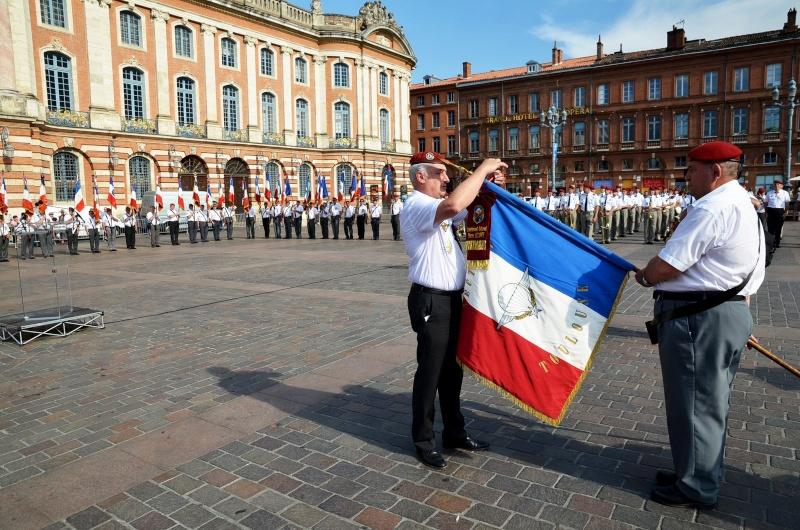 Hommage au Lnt-Col Pirre Lecomte: la section UNP de Toulouse pend le nom de :section Lnt-Col Pierre Lecomte Dsc_5623