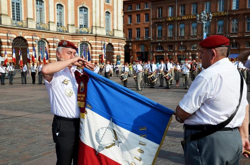 Hommage au Lnt-Col Pirre Lecomte: la section UNP de Toulouse pend le nom de :section Lnt-Col Pierre Lecomte Dsc_5624