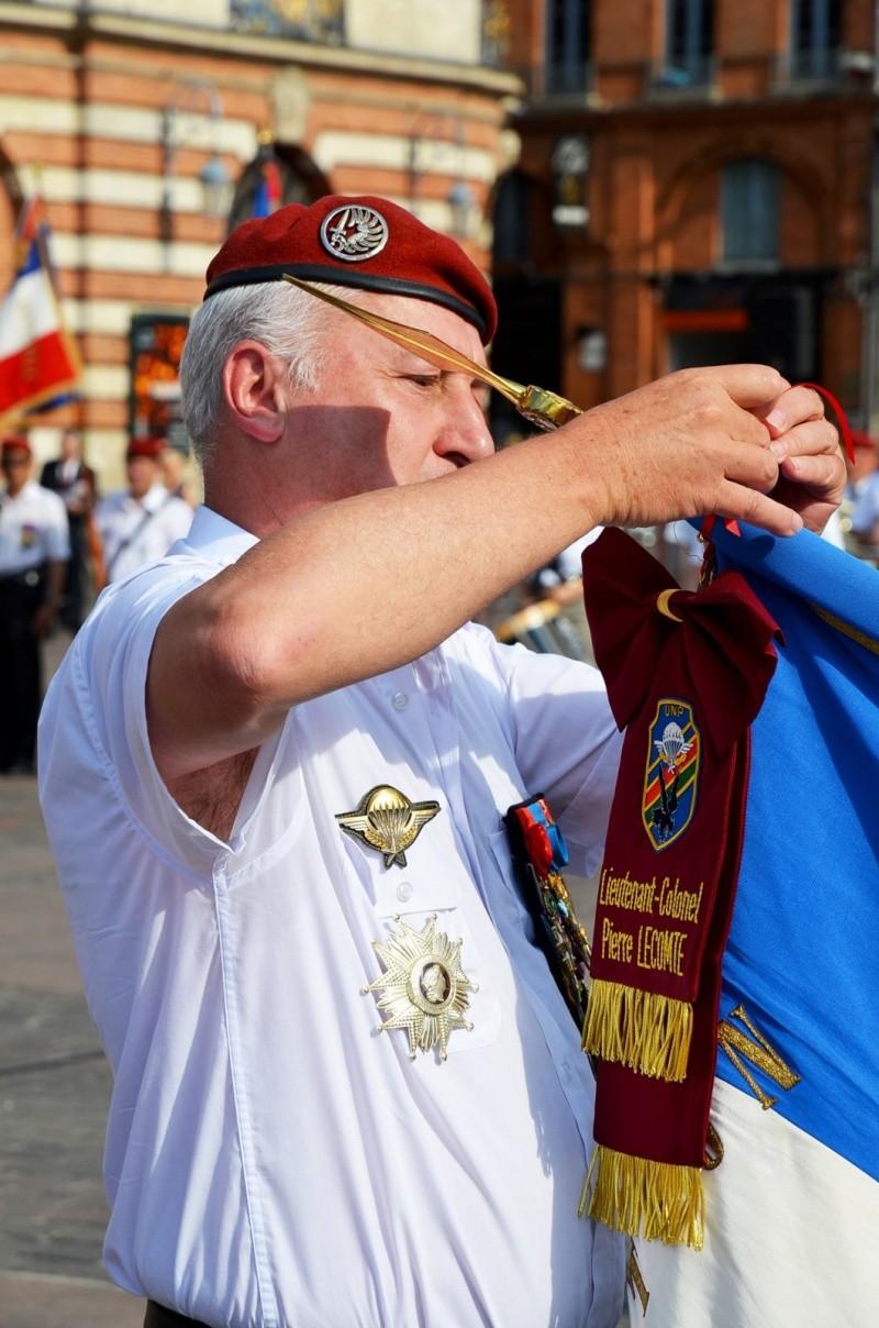 Hommage au Lnt-Col Pirre Lecomte: la section UNP de Toulouse pend le nom de :section Lnt-Col Pierre Lecomte Dsc_5625