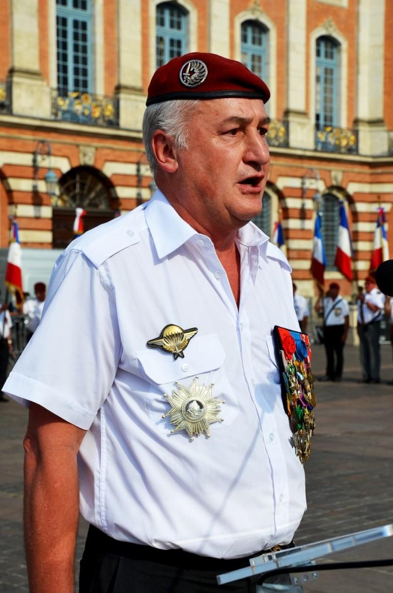 Hommage au Lnt-Col Pirre Lecomte: la section UNP de Toulouse pend le nom de :section Lnt-Col Pierre Lecomte Dsc_5627