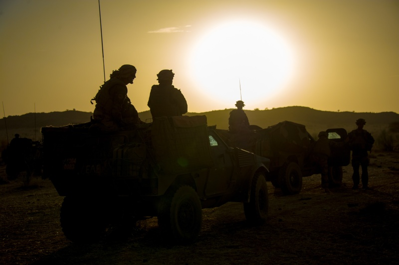 Belles photos de l'Opération BARKHANE - source: service communication 1er RCP Le_11_11