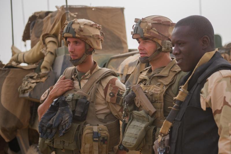 Belles photos de l'Opération BARKHANE - source: service communication 1er RCP Le_21_10