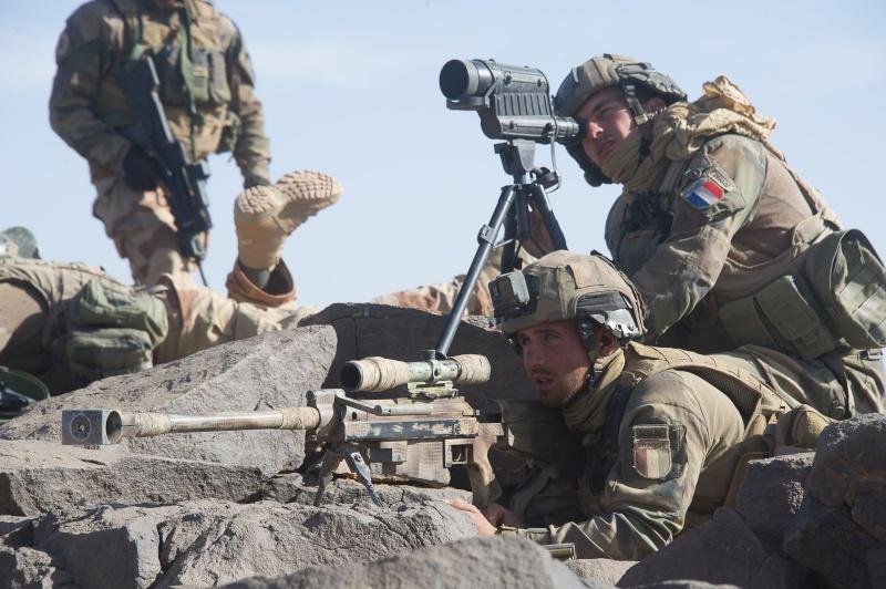 Belles photos de l'Opération BARKHANE - source: service communication 1er RCP Le_6_m10