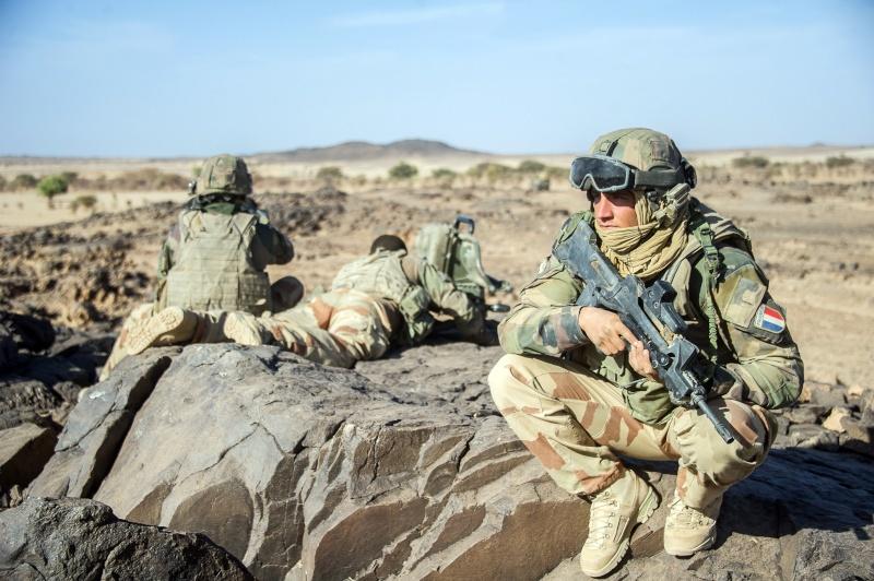 Belles photos de l'Opération BARKHANE - source: service communication 1er RCP Mali_m10