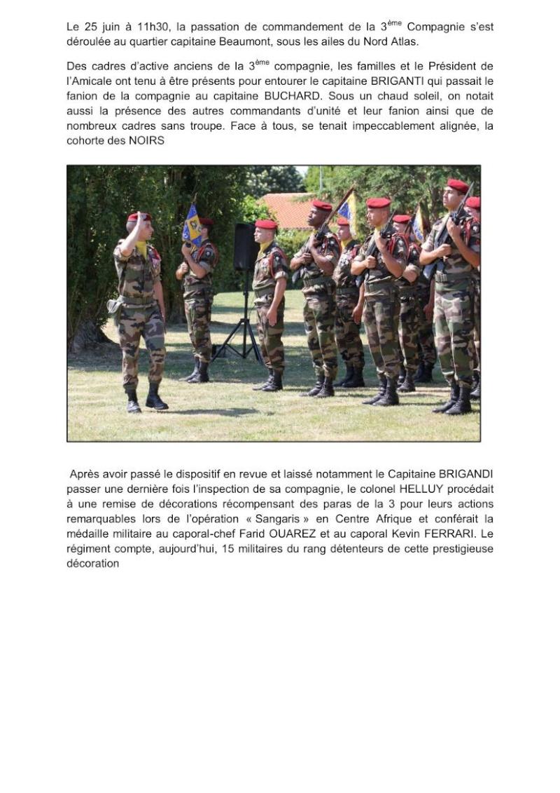 Passation commandement 3e Cie 1er RCP source site 1er RCP Passat10