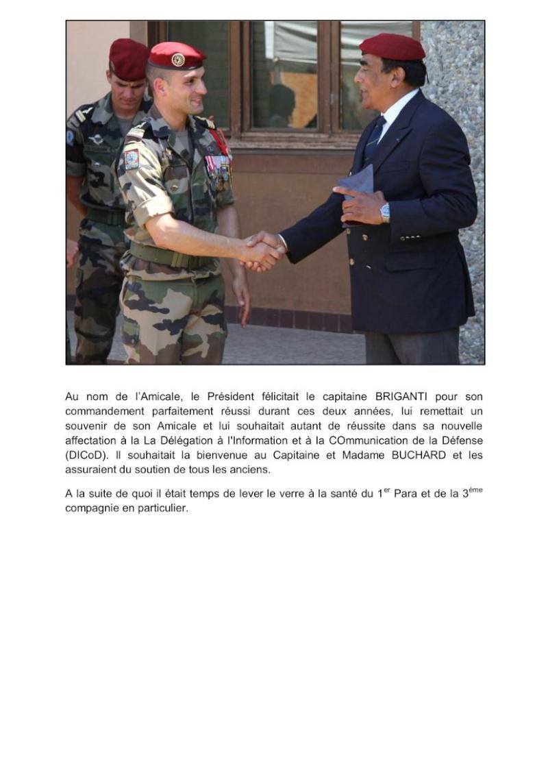 Passation commandement 3e Cie 1er RCP source site 1er RCP Passat13