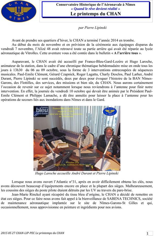 [Associations anciens marins] C.H.A.N.-Nîmes (Conservatoire Historique de l'Aéronavale-Nîmes) - Page 3 2015_066