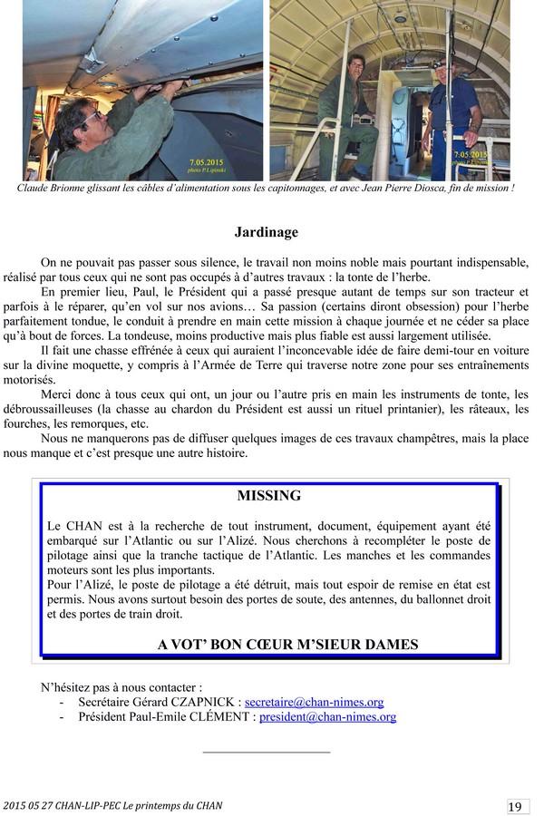 [Associations anciens marins] C.H.A.N.-Nîmes (Conservatoire Historique de l'Aéronavale-Nîmes) - Page 3 2015_137
