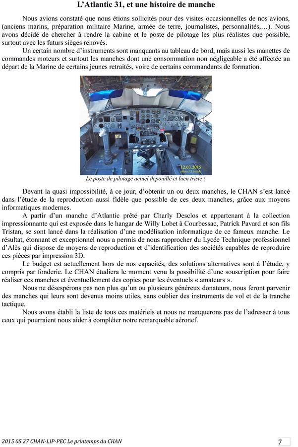 [Associations anciens marins] C.H.A.N.-Nîmes (Conservatoire Historique de l'Aéronavale-Nîmes) - Page 3 2015_143