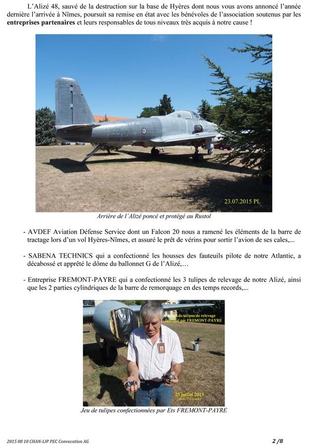 [Associations anciens marins] C.H.A.N.-Nîmes (Conservatoire Historique de l'Aéronavale-Nîmes) - Page 3 2015_260