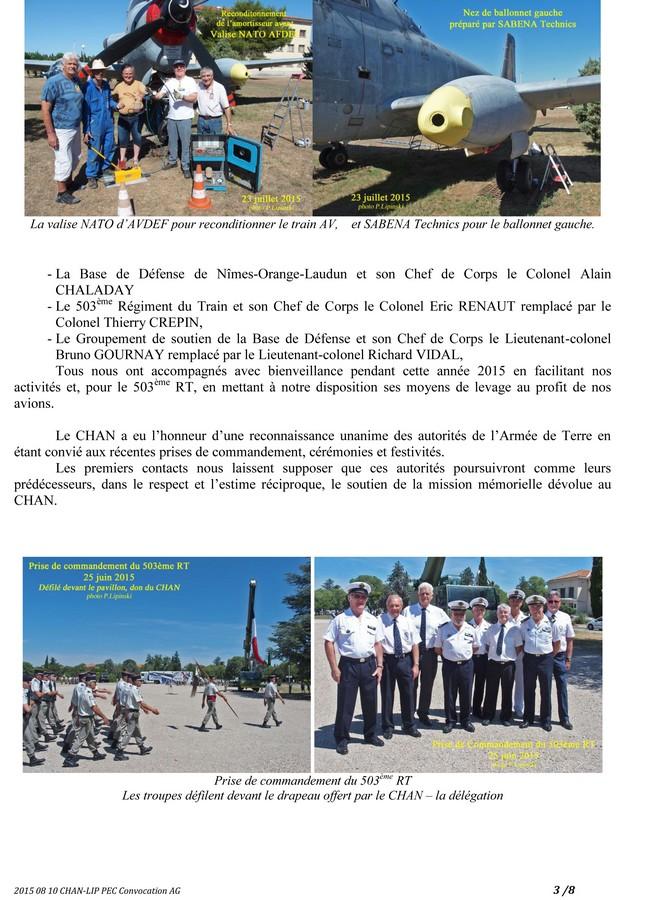 [Associations anciens marins] C.H.A.N.-Nîmes (Conservatoire Historique de l'Aéronavale-Nîmes) - Page 3 2015_261