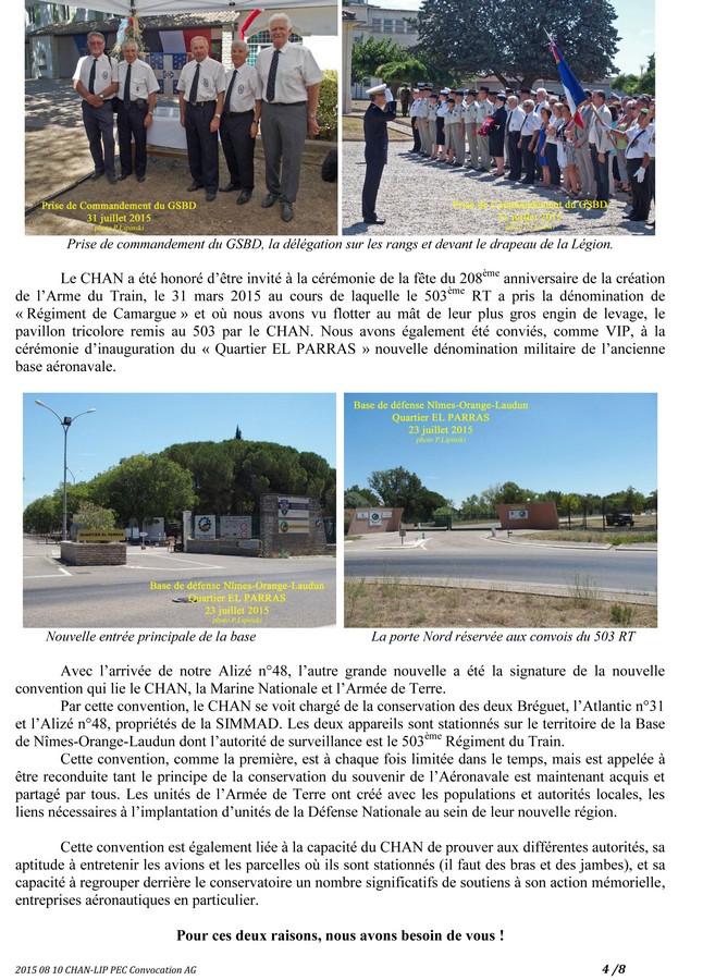 [Associations anciens marins] C.H.A.N.-Nîmes (Conservatoire Historique de l'Aéronavale-Nîmes) - Page 3 2015_262