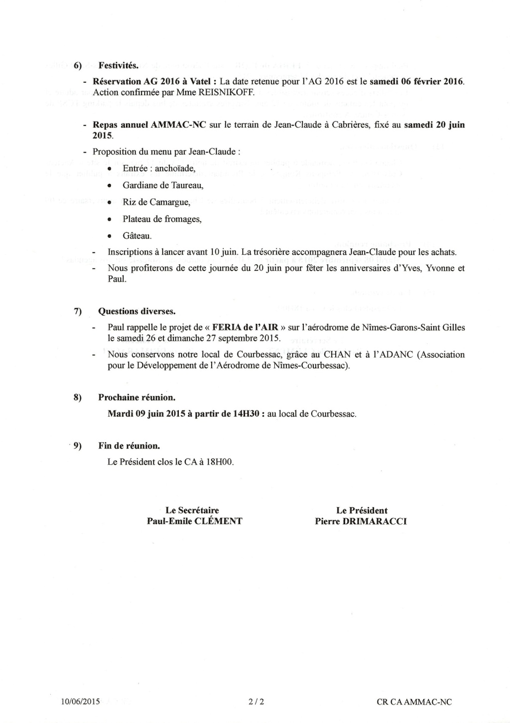 [ Associations anciens Marins ] AMMAC Nîmes-Costières - Page 7 Epson011