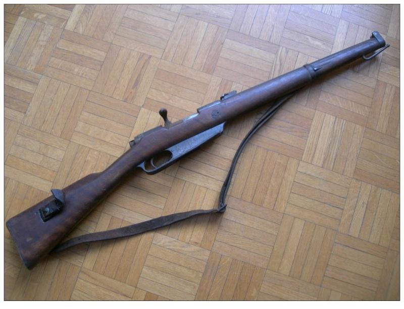 Restauration Gewehr 1891 440_0013