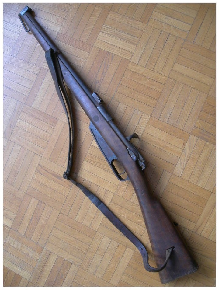 Restauration Gewehr 1891 440_0014