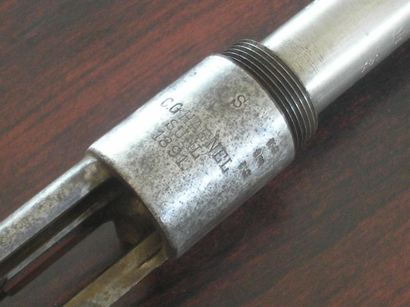 Restauration Gewehr 1891 P1010012