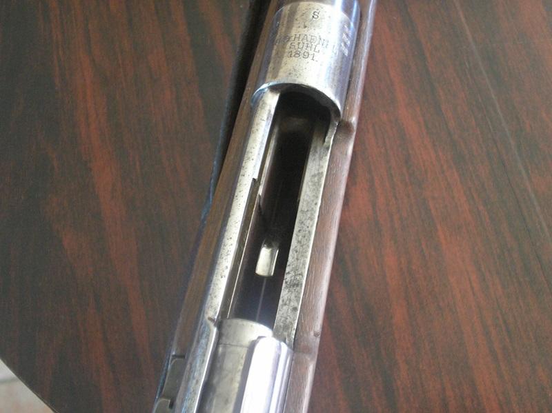 Restauration Gewehr 1891 P1010025