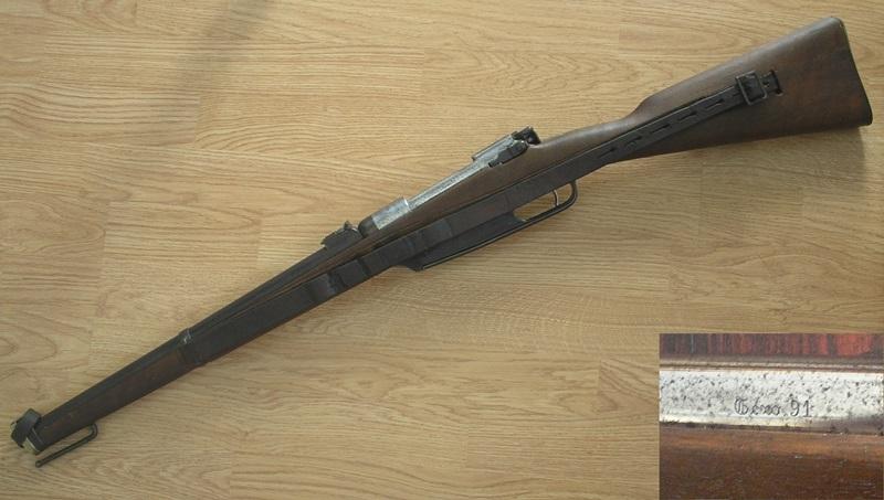 Restauration Gewehr 1891 P1010028