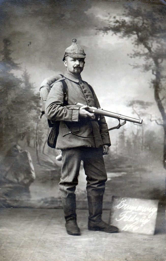 Le Gewehr 1891, cet inconnu. - Page 2 Soldat11