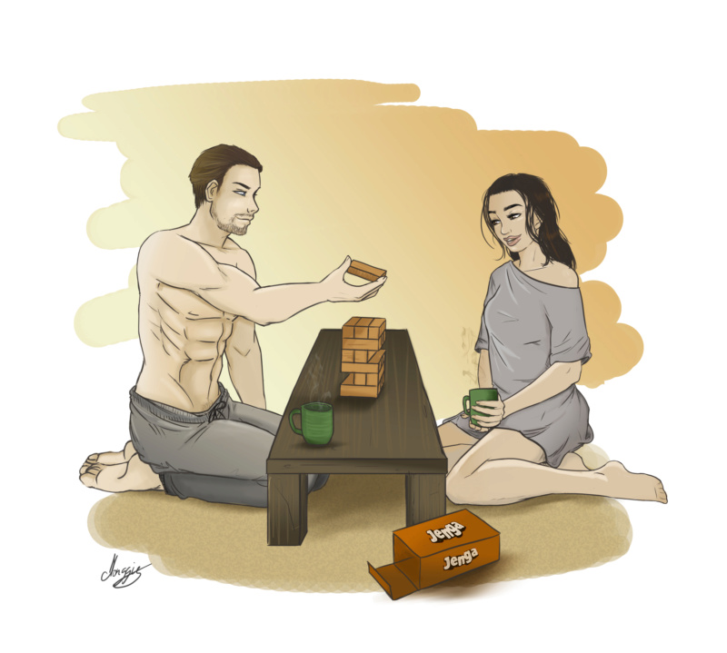 Caricaturationnage (dessins) Jenga_11