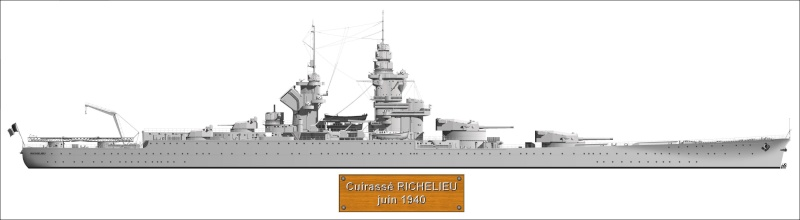 BEARN l'Arsenal 1/400 + PE et scratch - Page 4 Richel10
