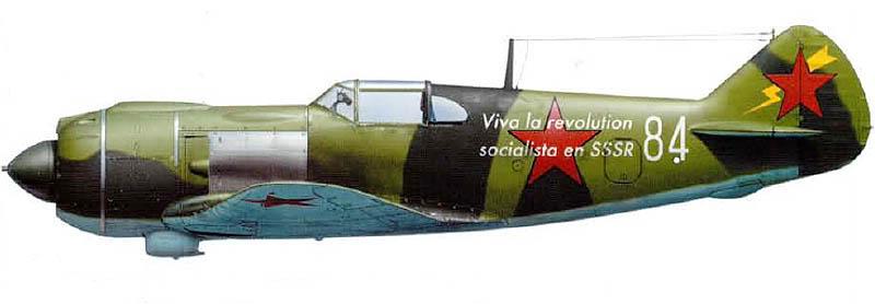 Pilote Espagnol dans les VVS La5_be10