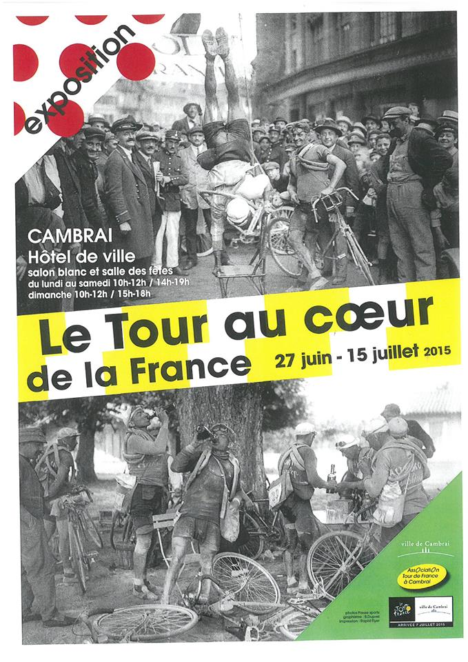 Arrivée d'étape tour de France 2015 CAMBRAI 11057710