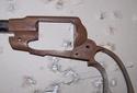 Bronzage à froid CARTRY sur Remington 1858 (DAMASCUS BROWN) 1recou10