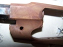 Bronzage à froid CARTRY sur Remington 1858 (DAMASCUS BROWN) 1recou11