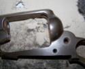 Bronzage à froid CARTRY sur Remington 1858 (DAMASCUS BROWN) 1recou14