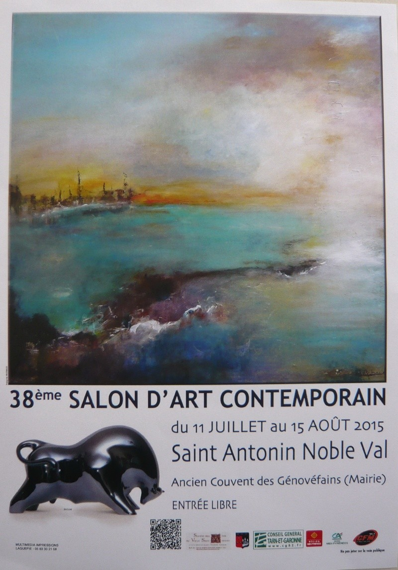 38ème salon d'Art Contemporain à Saint Antonin Noble Val-82 P1070210