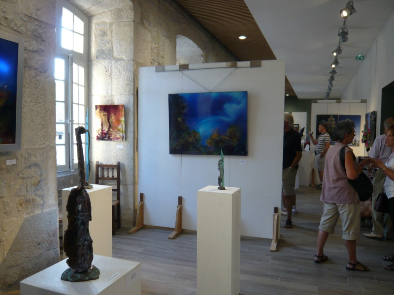 38ème salon d'Art Contemporain à Saint Antonin Noble Val-82 P1070212