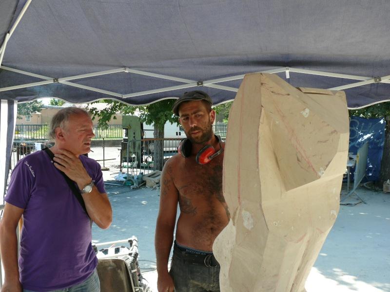 Symposium de Sculpture - Marsac sur Tarn P1180613