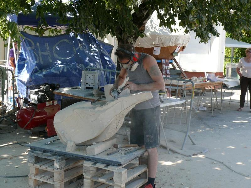 Symposium de Sculpture - Marsac sur Tarn P1180615