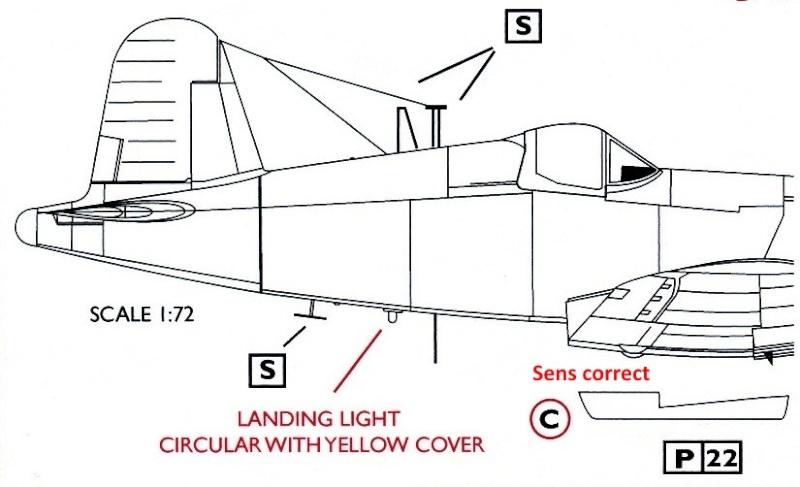 Vought F4U-7 Corsair, 1/72, HPM F4u-7_27