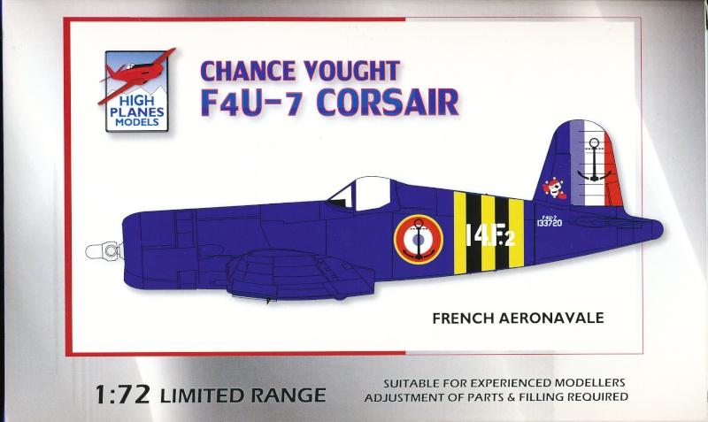 Vought F4U-7 Corsair, 1/72, HPM Vought12