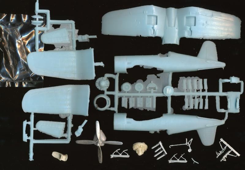Vought F4U-7 Corsair, 1/72, HPM Vought14
