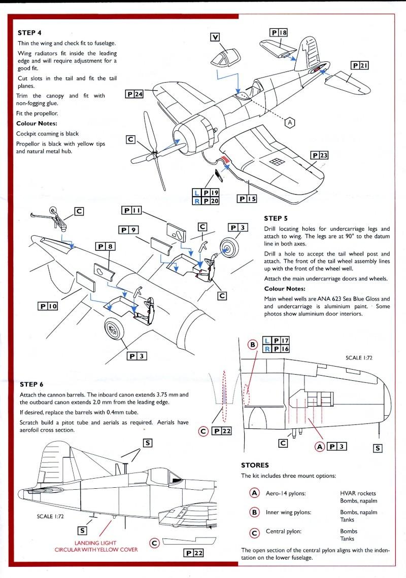 Vought F4U-7 Corsair, 1/72, HPM Vought22