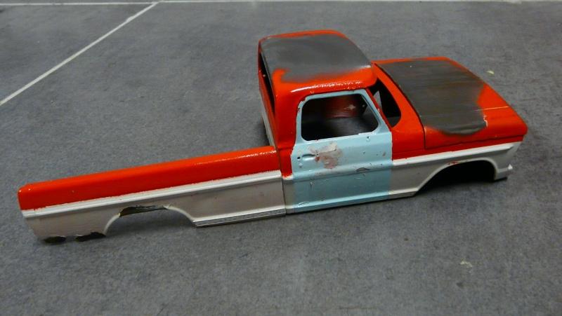 Ford Ranger XLT 1971 1/25 - Rusty farm truck. P1230811