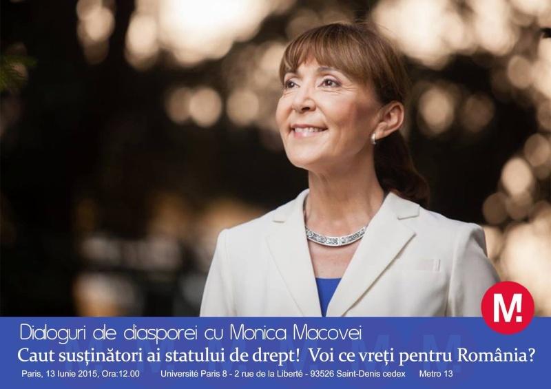 Paris - Rencontre - débat avec Monica Macovei à Paris Image10
