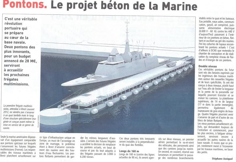 brest - [Les ports militaires de métropole] Port de Brest - TOME 1 - Page 5 Bn_0110