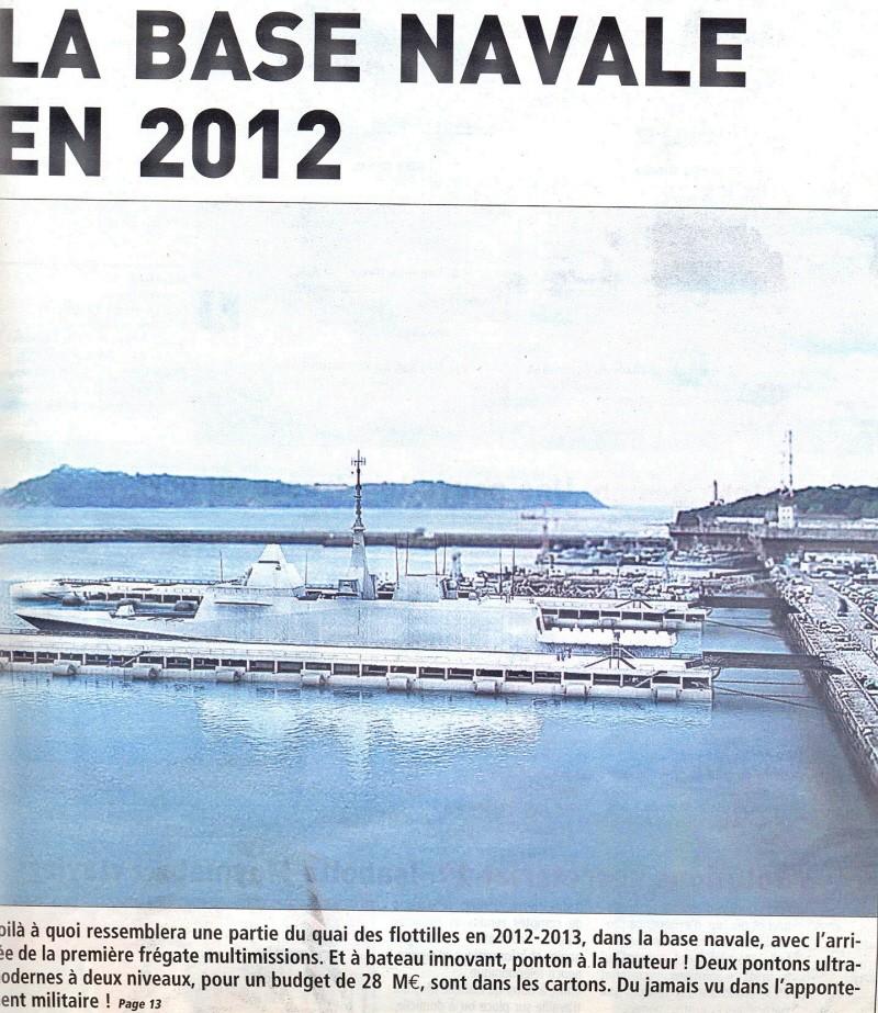 brest - [Les ports militaires de métropole] Port de Brest - TOME 1 - Page 5 Bn_20110