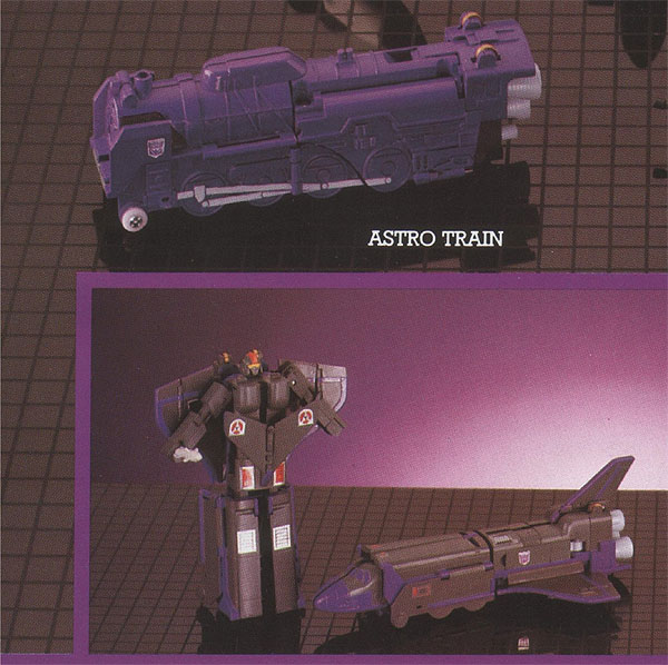 Astrotrain... vintage, réédition, variantes ? Post-510