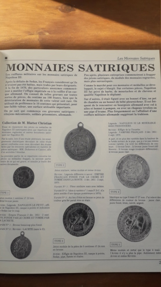 Monnaie satirique Napoléon III 20190427