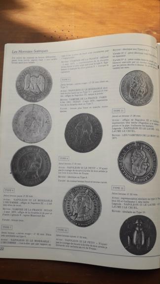 Monnaie satirique Napoléon III 20190429